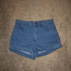"Size 27"" Waist Forever 21 Denim Shorts"